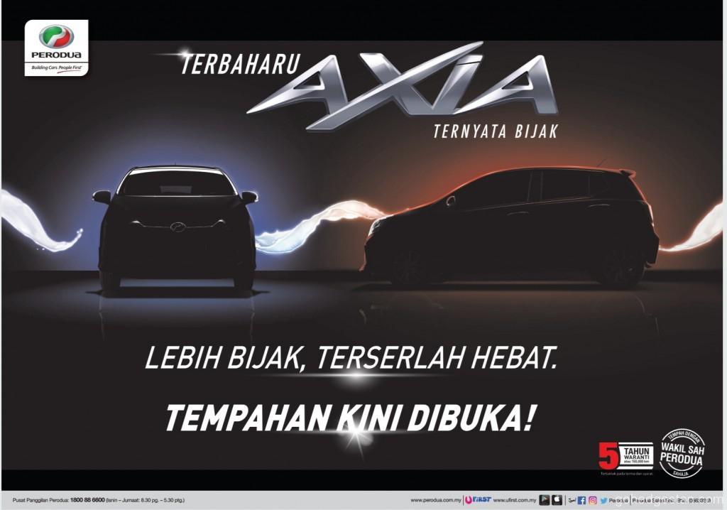 Perodua Axia 2019 booking1