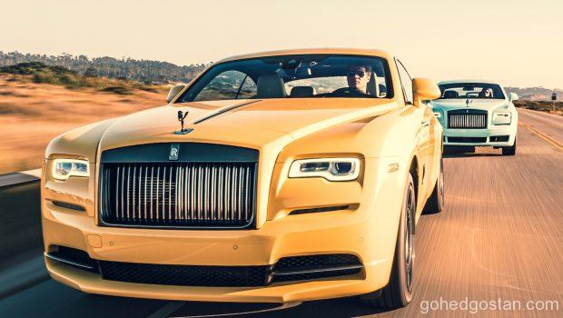 Rolls Royce Black Badge Is Yellow 1