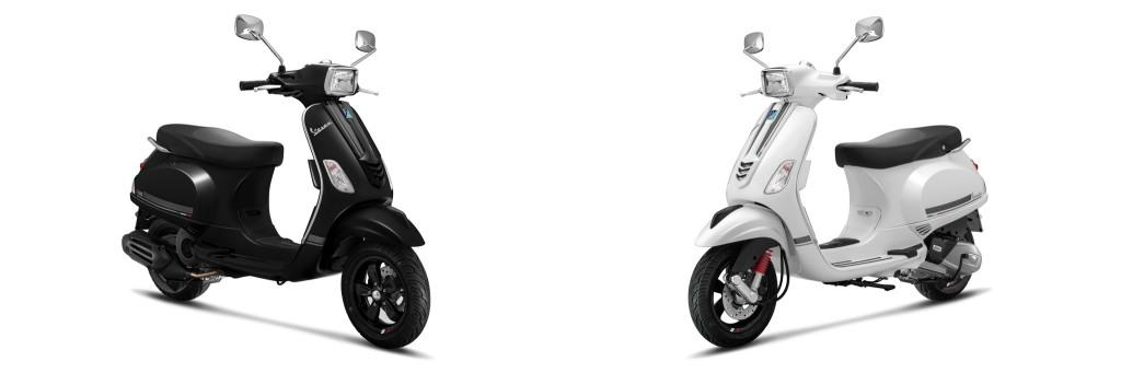 Vespa S125 Carbon Edition