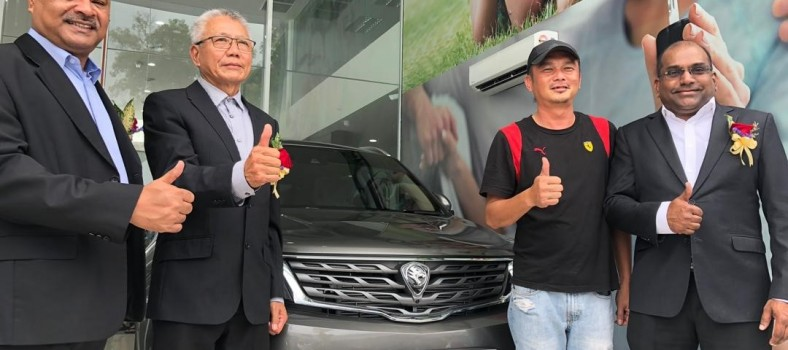 car handover to customer
