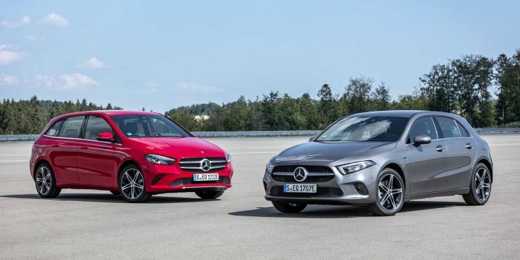 Mercedes-Benz A 250 e, B 250 e