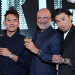 L-R - Phei Yong (Friend of Bell & Ross Malaysia), Mr Carlos Rosillo, Ethan Chu (Friend of Bell & Ross Malaysia)