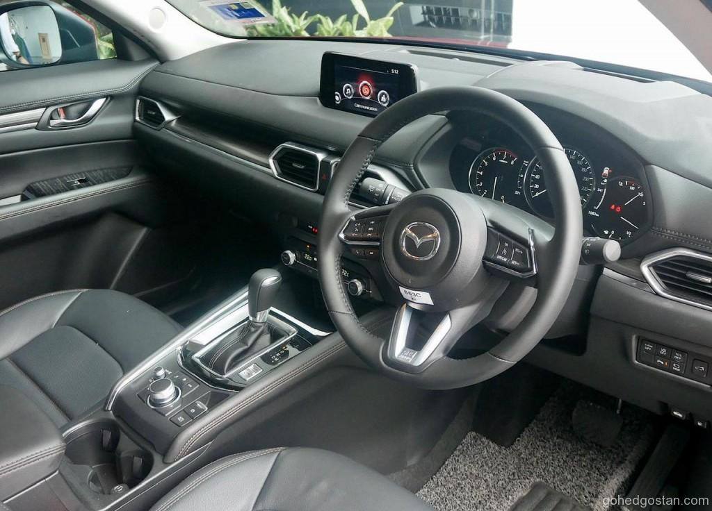 Mazda CX-5 2.5T AWD interior