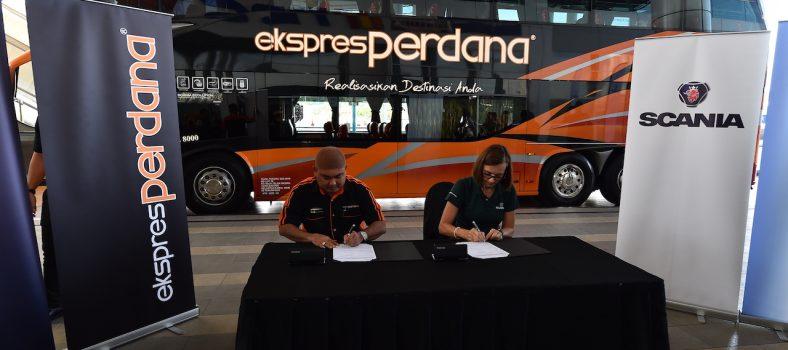 Perdana Express Scania 1