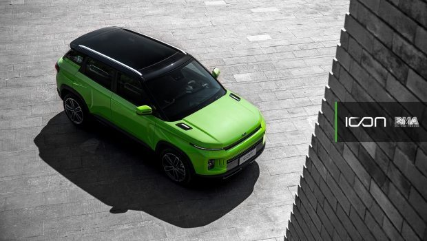 SUV Geely-ICON-Green 1