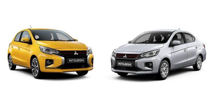 Mitsubishi Mirage Attrage Facelift