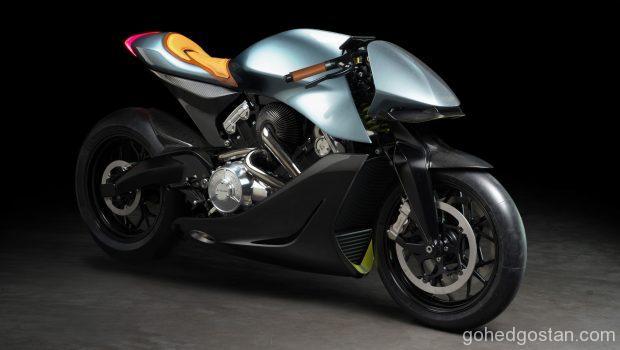 Motosikal Aston Martin AMB 001 1