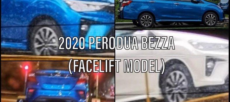 Perodua Bezza Facelift 1