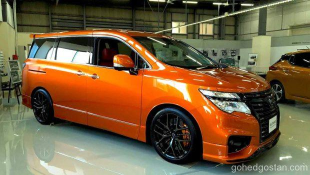 Nissan-Elgrand-with-Skyline-engine 1