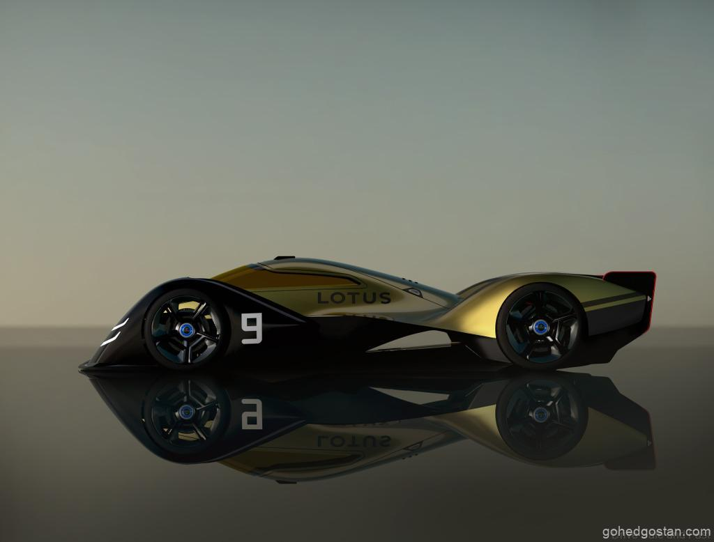 E-R9 Lotus F1 left side 2