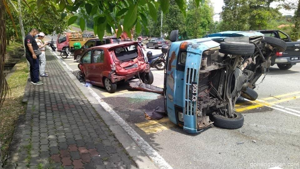 Myvi Crash back left 2.0