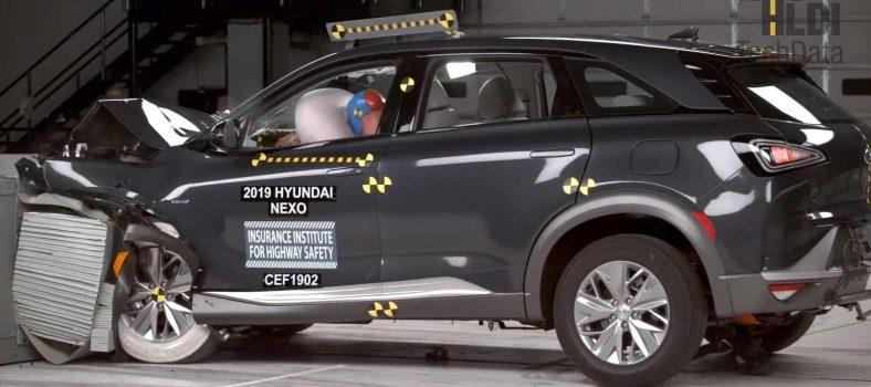 IIHS hyundai nexo crash testing 1.0