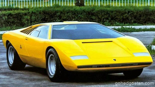Lamborghini Countach - Front Right - 1.0