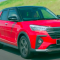 Perodua Ativa Booking - front right red - 1.0