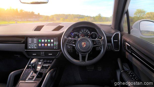 Porsche Cayenne - cockpit - 1.0