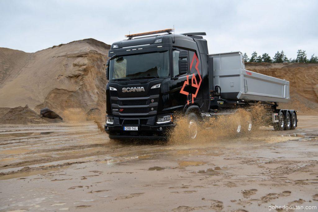 Scania R 530 XT V8 6x4, tipper