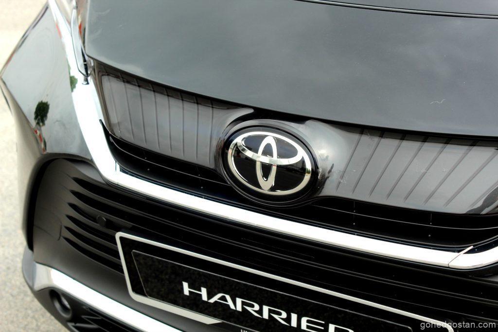 Toyota Harrier - gril depan emblem - 2.0