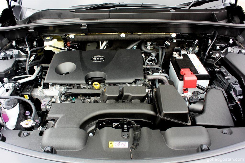 toyota harrier enjin 4.3