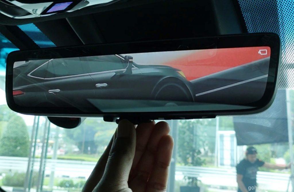 toyota harrier digital rear view mirror 3.2