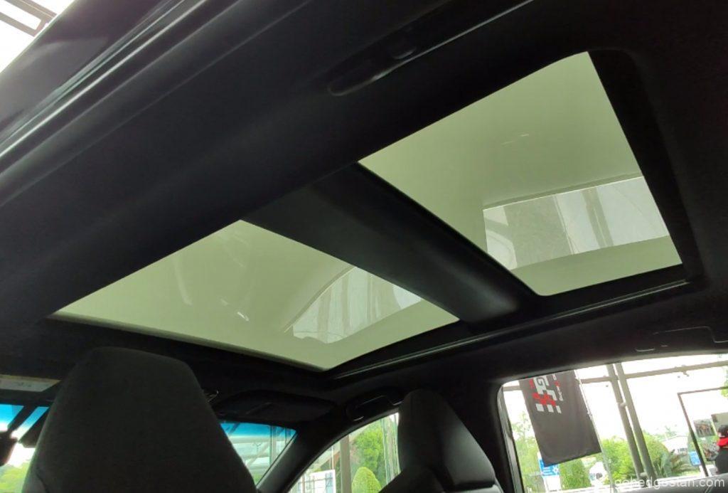 toyota harrier electrochromatic roof 3.4