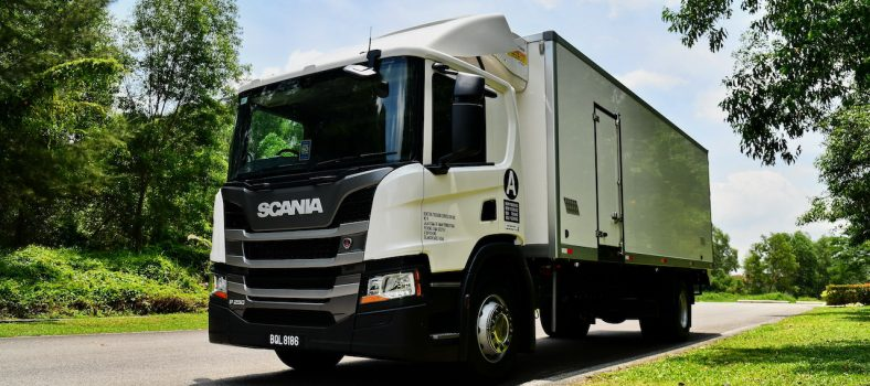 Beauty Scania Ecolution shot