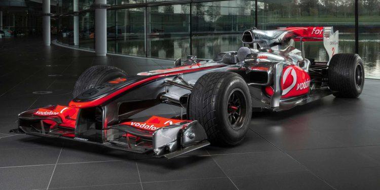 Lewis Hamilton McLaren MP4-25A