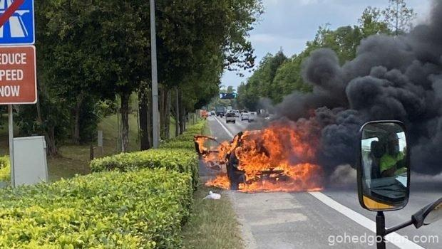 Singapore-Car-Fire-2021 BMW-X1-1.0
