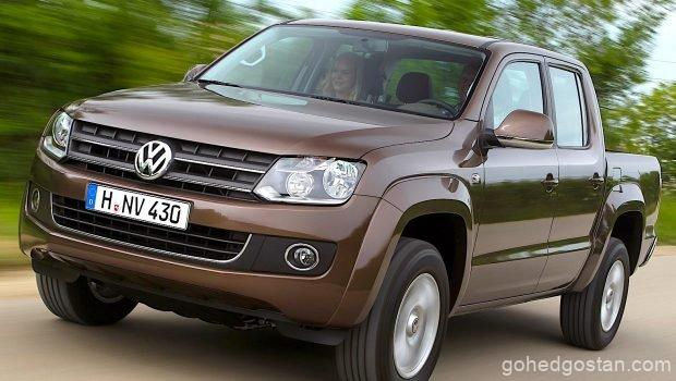 Volkswagen-Amarok 2017 brown front left 1.0