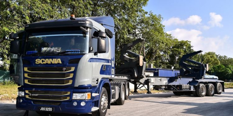 Scania Prime Movers Naidu Trans Skudai 1.0