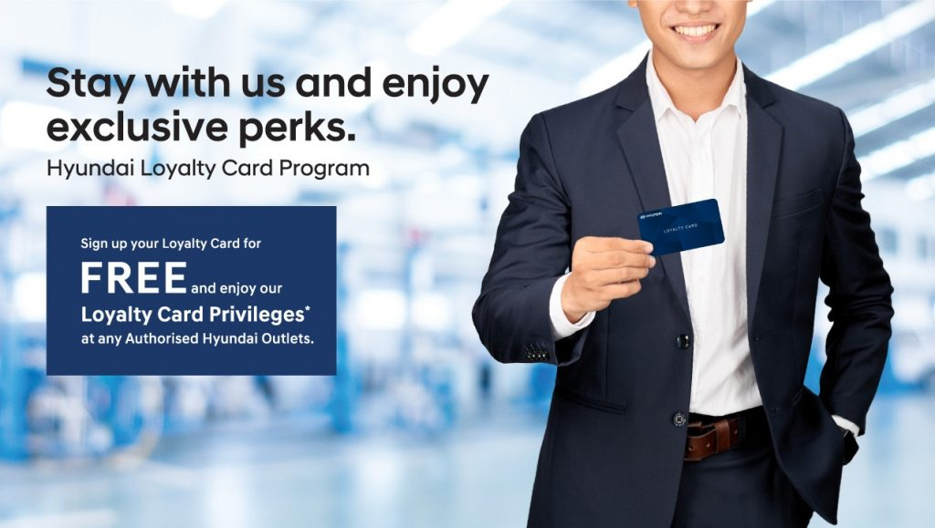 Hyundai's Loyalty Card - An Exclusive Privilege that Comes Automatically with the Ownership of any Hyundai Model