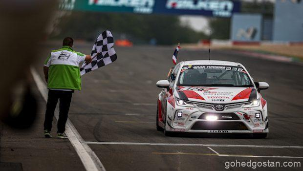 TGR Team @ Nurburgring 24 chequered flag 1.0