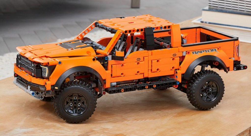 Ford F-150 Raptor Lego Technic