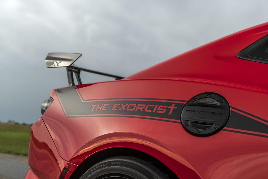 Hennessey Exorcist Camaro ZL1 30th Anniversary Edition