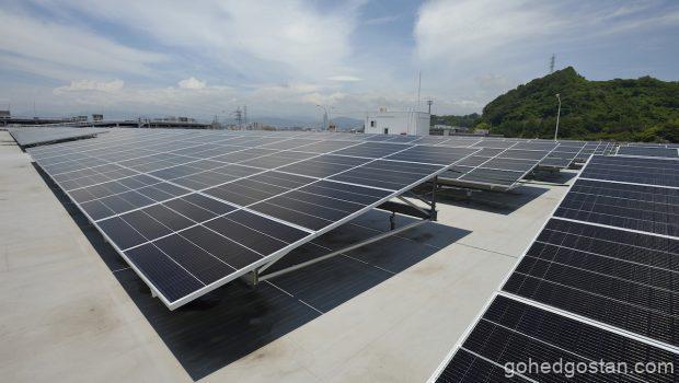 Loji Mazda-Hiroshima-Solar panels 1.0