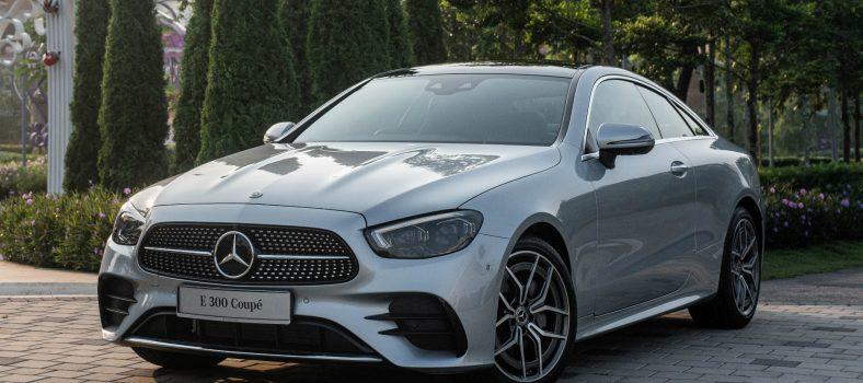 Mercedes-Benz E-Class Coupe Facelift