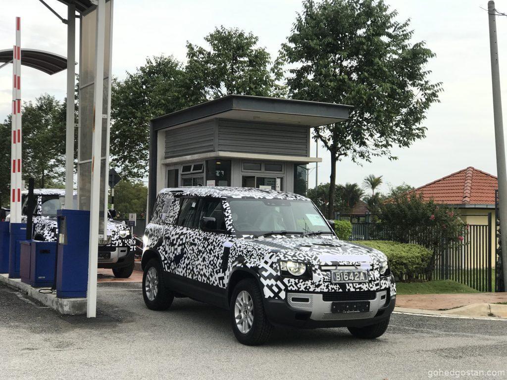 Land Rover Defender Spy Shot Malaysia