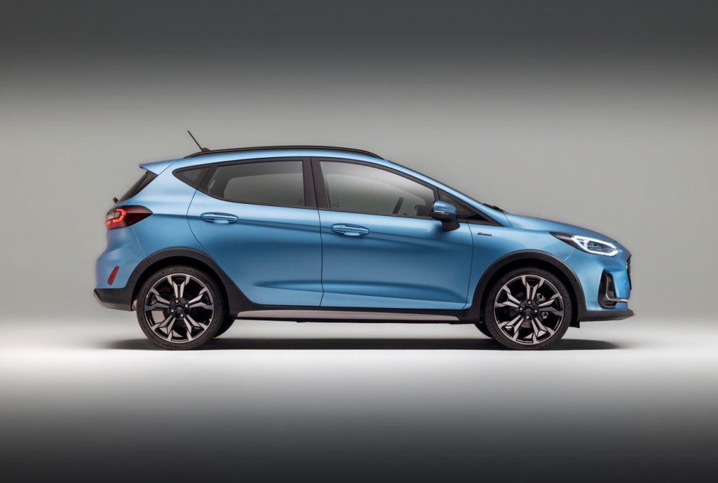 Ford Fiesta Active Facelift