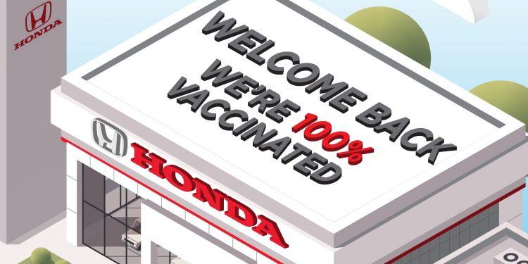 Honda Malaysia I'm Vaccinated Kempen