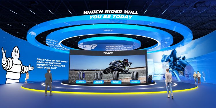 Michelin Motorcycle Tyre Virtual Exhibition